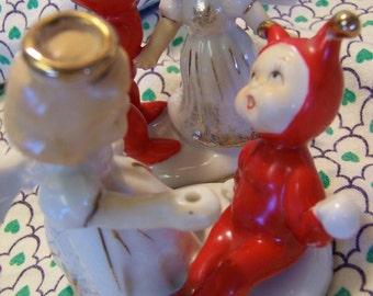 two victoria ceramics figurines