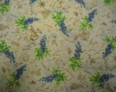Material,Texas Blue Bonnets Cotton