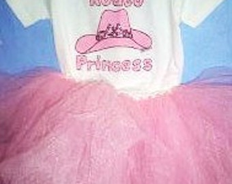 Rodeo Princess Tutu Set, Cowgirl Outfit, Cowgirl Princess, Western Baby Girl Clothes