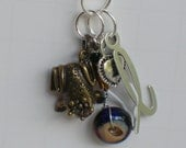 Frog Key Chain Personalized