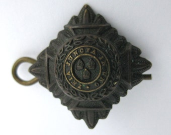 Vintage Canadian military Officers Pip circa ww2 pin
