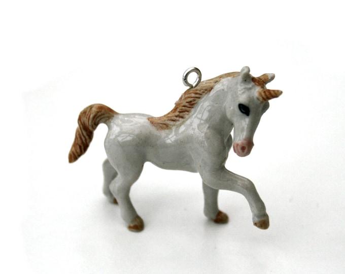 Porcelain Unicorn Necklace, Fantasy Necklace, Animal Necklace