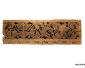 1700s Cambodian Carved Panel, Historic House Decoration, Hand Carved Art