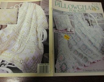 Afgan Crocheting Patterns Pillowghans for Baby Book 2 Leisure Arts 3029 Crochet Pattern Leaflet