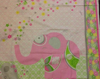 Ellie the Elephant reversible quilt