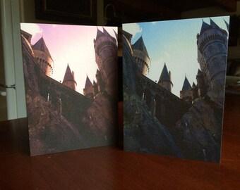 Home - Harry Potter Hogwarts Castle Card