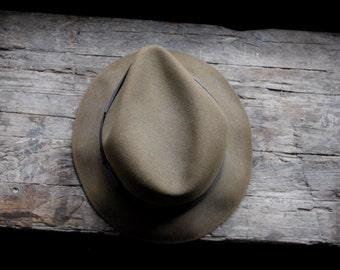 Vintage brown Dobbs Fifth Avenu fedora