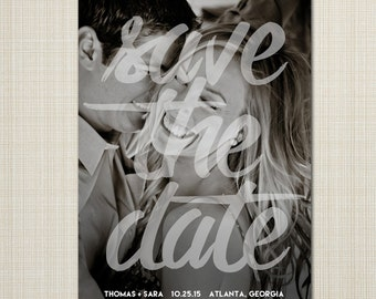 Save The Date cards, save-the-date postcards, Modern Save the Date, Digital Save the Date, custom Save the Date