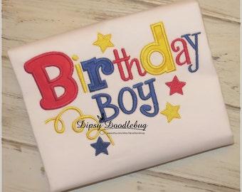 Birthday Boy Boys Shirt - Birthday Shirt- Boys Birthday Shirt