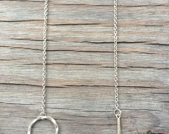 Silver Threaded Necklace