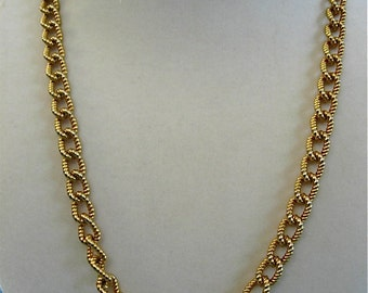 Anne Klein Gold Chain Necklace