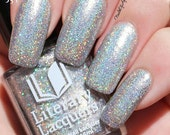 Mirror of Galadriel - Silver Glitter Linear Holographic Polish - March Pop Up Pre-Order