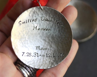 Memorial Ornament, In Loving Memory, Personalized Ornament - by I Heart This