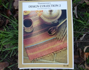 Handwoven's Design Collection 2 from Interweave Press with free shipping Weaving Patterns Drafts