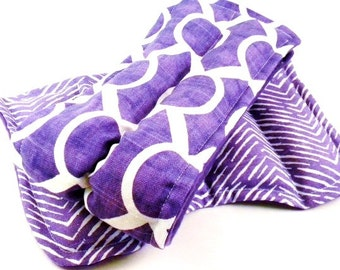 Cold Wraps for Hot Women, Hot Flash Cold Packs, Ice Wraps, rice bags Gift for Her, Gift for Women purple