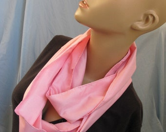 SALE - Pink Cowl/Circle Scarf/Infinity Scarf (4352)