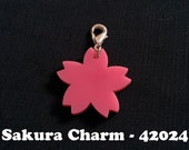 Sakura Cherry Blossom Laser Cut Acrylic Charm Mix and Match!