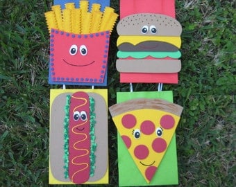 Fast Food Birthday Party Favor Bag