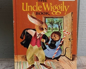 The Uncle Wiggily Book & Stories Around the Year -  2 Sided Book