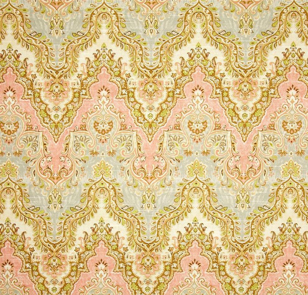 Yellow chevron kitchen curtains - Boho Drapery Panels Chevron Curtains Light Peach Blue Grey Window Curtains Bohemian Drapes Pastel Curtains Rod Pocket One Pair 50 W