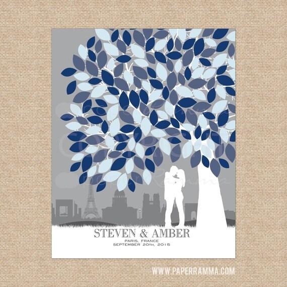 Alternative To Wedding Gifts : Gift for Wedding GuestBook Alternative, Rustic Wedding Decor, Custom ...