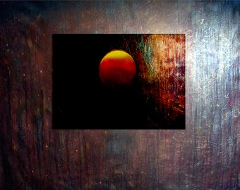 Original PAINTING large designer modern art abstract oil painting deep space fine art canvas museum quality masterpiece by Leearte