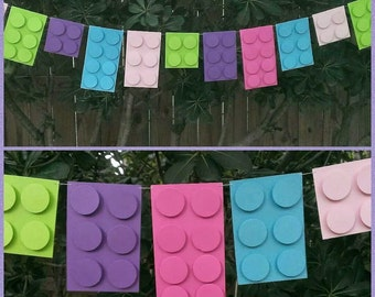 Building Block Garland