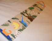 Foldable Children's Growth Chart, Dinosaurs II