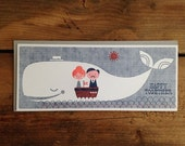 Happy Together Nautical Letterpress Card