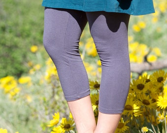 Soy Luscious Capri Tights - women's organic leggings