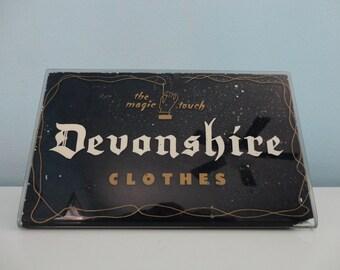 VINTAGE devonshire clothes ADVERTISING SIGN