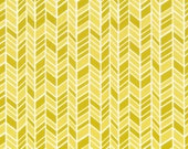 Sale, Organic Cotton Fabric, Cloud9 , Straw Hat, Yellow,  House and Garden Collection, by the yard