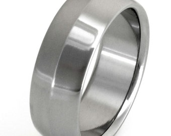 Titanium Wedding Band - n7