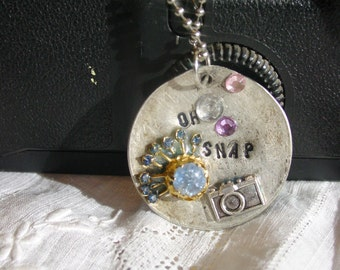 Spoon Jewelry Necklace ... OH SNAP! A Vintage Remix