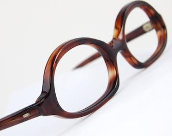 Rare Tortoiseshell Cat Eye Sun/eyeglasses  Optical Frame NOS Vintage 1950s