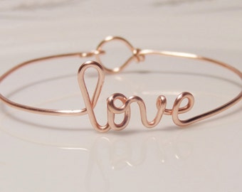 Jewelry,Love, name bracelet, bridesmaid gift, wedding party, dainty bracelet,mom bracelet,grandma bracelet