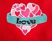 Love Heart Bodysuit or Tee