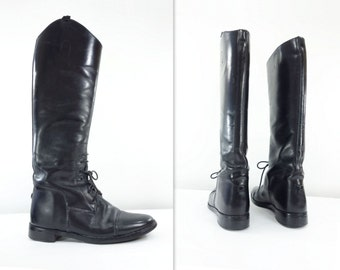 Leather boots | Etsy