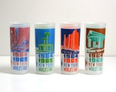 Vintage New York World's Fair Tumblers - 1964 1965