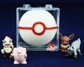 SOAP Premier Ball Pokeball with Surprise Toy Inside, Anime Geek Gift