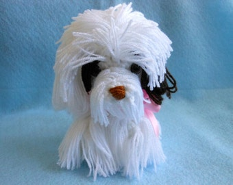 Custom Crochet Dog Made to Look Like Owner's Dog, Canine, Stuffed Animal, Stuffed Dog, Look Alike, Pet Memorial, Pet Remembrance