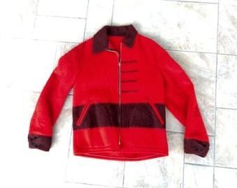 Early Men's Hudson Bay Point Blanket Jacket