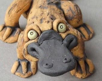 Platypus Ceramic Sculpture
