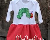 The very hungry caterpillar dress