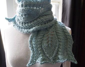 Scarf Knitting Pattern - Kale