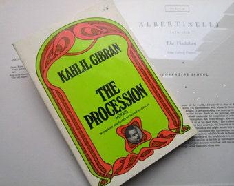 Vintage Kahlil Gibran