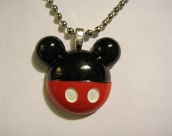 Mouse Shape Necklace