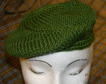 4 Panel Coptic Stitch Nalboud Beret
