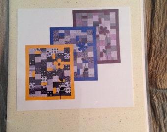 Bloom Wherever quilt pattern