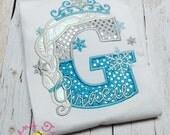 Frozen Shirt ~ Frozen Birthday Party Shirt ~ Cold Princess Shirt ~ Frozen Party ~ Snowflake Birthday Shirt ~ Elsa Shirt